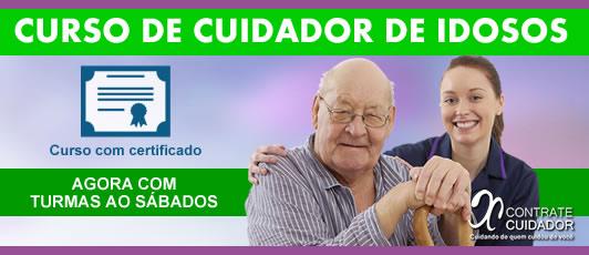 Contrate Cuidador RJ Serviços de Cuidador de idoso Curso